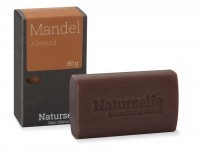 Naturseife 80 g, Mandel