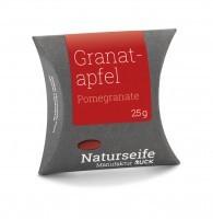 Naturseife 25 g, Granatapfel