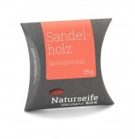 Naturseife 25 g, Sandelholz