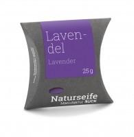Naturseife 25 g, Lavendel