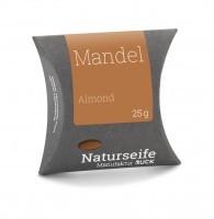 Naturseife 25 g, Mandel