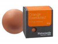 Naturseife Kugelförmig 40 g, Orange Eisenkraut
