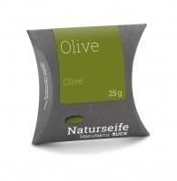 Naturseife 25 g, Olive