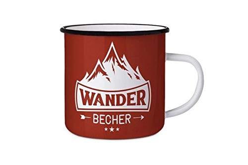Emaillebecher Wander