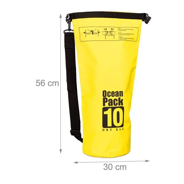 Ocean Pack 10 Liter Farbe Schwarz